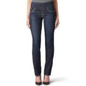 Rock & Republic Fever Flat Line Blue ankle Jeans 8
